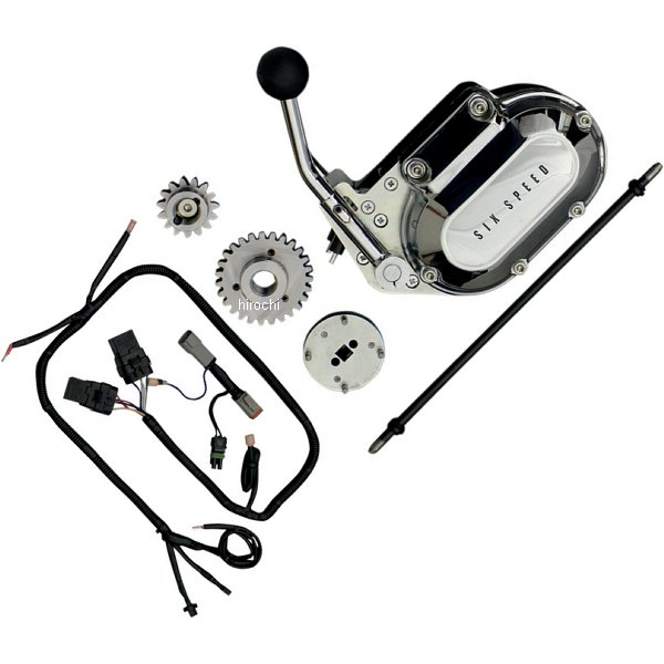 【USA在庫あり】 モータートライク Motor Trike バックギア キット 09年-13年 FLHT 6速トランスミッション ケーブルクラッチ 1103-0025 JP店