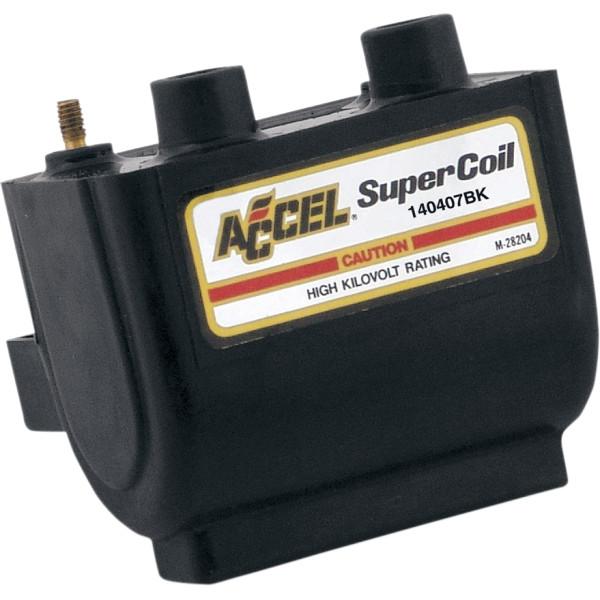 【メーカー在庫あり】 アクセル ACCEL コイル 2.3オーム デュアルファイアー 電子イグニッション 黒 140407BK JP店