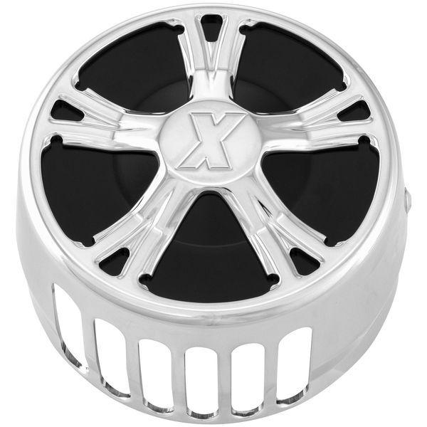 【USA在庫あり】 67-8666 エクストリームマシン(Xtreme Machine) ホーン カバー フィアス クローム 678666 JP