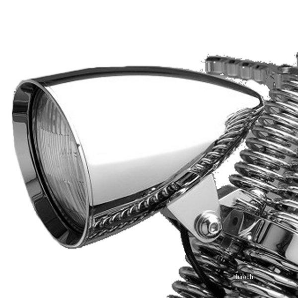 【USA在庫あり】 ヘッドウィンド Headwinds ヘッドライト 4.5インチ ハウジングのみ コンクールロケット クローム 0901-4800 JP店