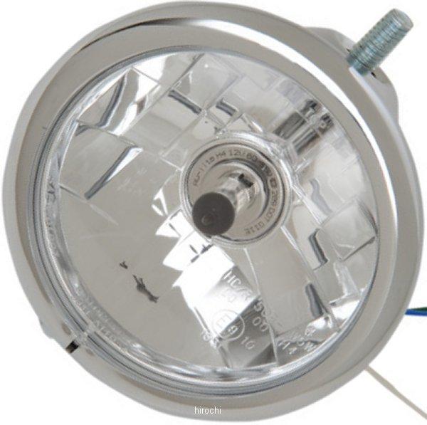 【USA在庫あり】 DRAG ヘッドライト 5.75インチ 55/60W 84年-06年 XL、FX クローム 2001-0806 JP店