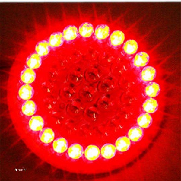 【USA在庫あり】 カスタム ダイナミクス LEDウインカー サークル フラット シングル球仕様 2060-0358 JP店