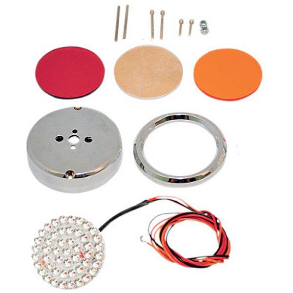 【USA在庫あり】 カスタム ダイナミクス Custom Dynamics LEDライト 2.25インチ(57mm) 2色 2040-1311 JP