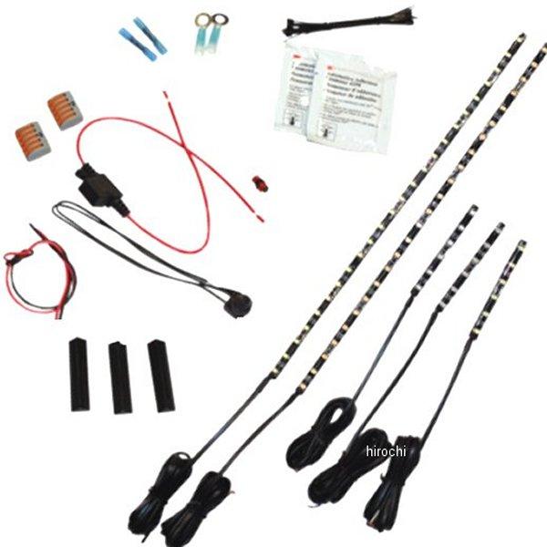 【USA在庫あり】 カスタム ダイナミクス Custom Dynamics LEDライト クルーザー MagicFLEX2 白 2040-1628 JP