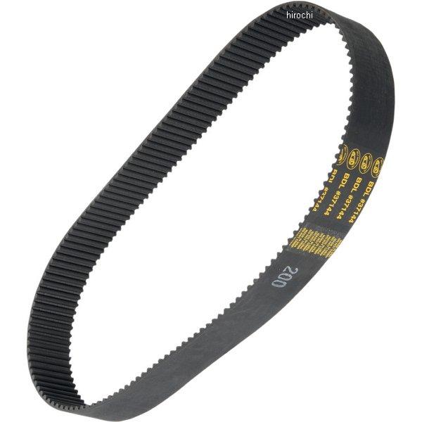 【メーカー在庫あり】 ベルトドライブ Belt Drives 補修用 プライマリー ベルト 144T 歯サイズ8mm/幅2インチ BDL-37144-2 JP店