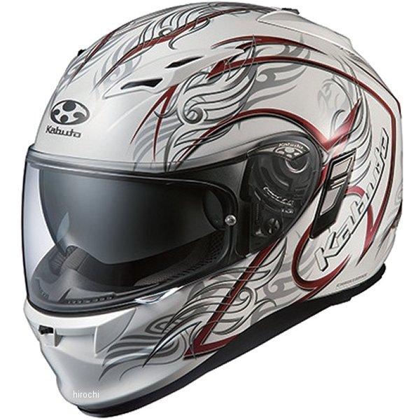 オージーケーカブト OGK Kabuto ヘルメット カムイ 2 トライラグ パールホワイトレッド Sサイズ 4966094555092 JP店