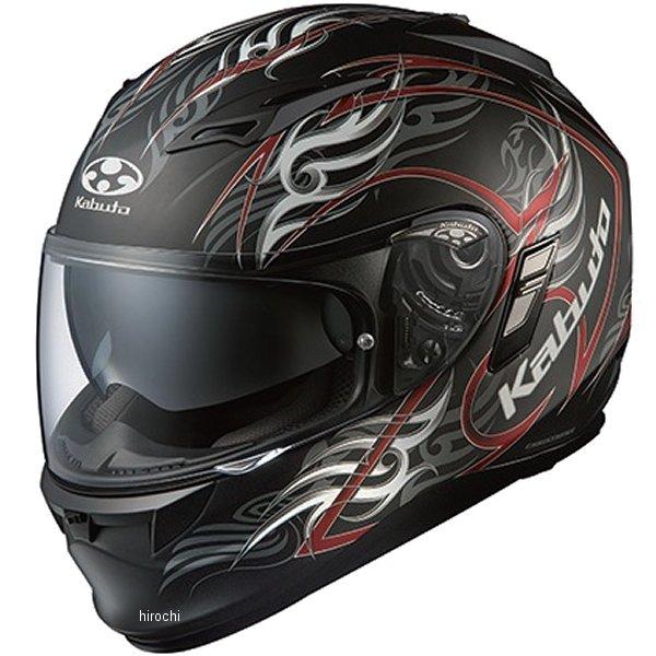 【メーカー在庫あり】 オージーケーカブト OGK Kabuto ヘルメット カムイ 2 トライラグ 黒(つや消し)レッド XLサイズ 4966094555177 JP店