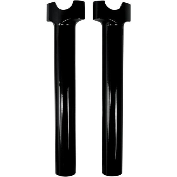 【USA在庫あり】 DRAG 1インチハンドルバー 10インチ(254mm)高 ライザー 黒 0602-0517 JP
