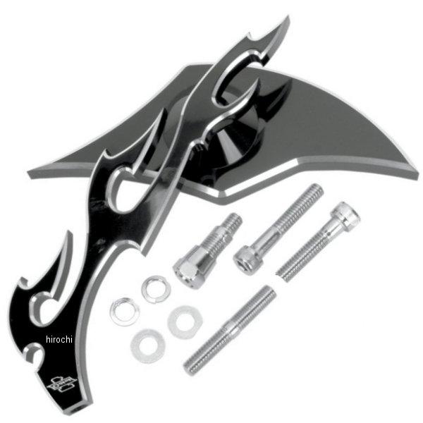 【USA在庫あり】 プロワン PRO-ONE ミラー フレイム 左 黒 0640-0245 JP