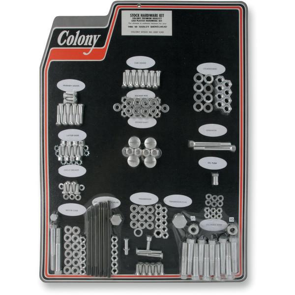 【USA在庫あり】 CAD コロニー Colony Machine ボルトキット 66年-69年 ショベル 2401-0455 JP