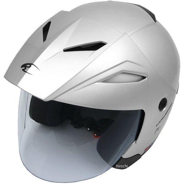 【メーカー在庫あり】 HK-165 コミネ KOMINE ヘルメット エーラ シルバー XLサイズ 4560163752605 JP店