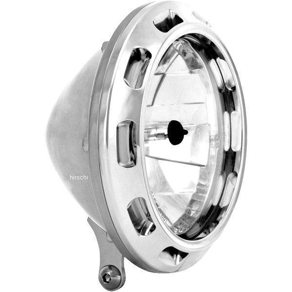 【USA在庫あり】 パフォーマンスマシン 5.75インチ(146mm) ヘッドライト APEX クローム PM3416 JP
