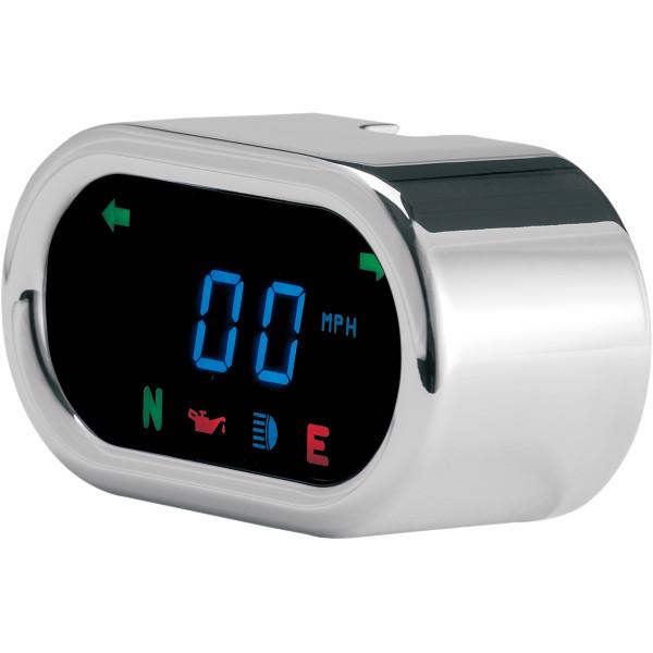 【USA在庫あり】 ダコタデジタル Dakota Digital スピードメーター(km/h、MPH) 5000 クローム クラシック 2210-0075 JP