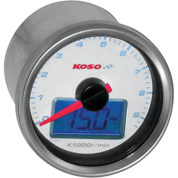 【USA在庫あり】 コソ KOSO 電子タコメーター 油圧計き 2211-0078 JP