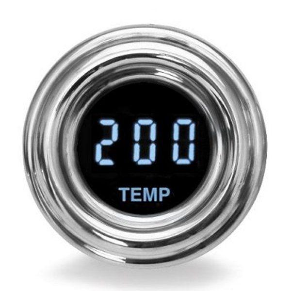 【USA在庫あり】 ダコタデジタル Dakota Digital 油温計 4000ミニ レトロ 青 2212-0176 JP