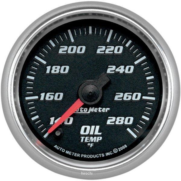 【USA在庫あり】 オートメーター Autometer 2-1/16インチ(52mm) 油温計 コバルト 2212-0389 JP店