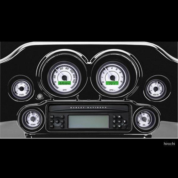 【USA在庫あり】 ダコタデジタル Dakota Digital メーター 6個セット MVX-8K 白/グレー/黒べゼル 2212-0441 JP