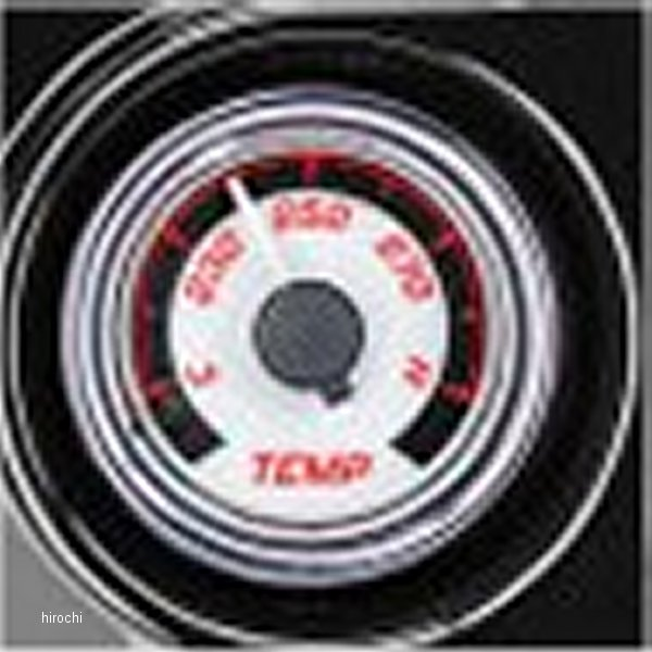【USA在庫あり】 ダコタデジタル Dakota Digital 油温計 MVX-8K 白/赤/クロームべゼル 2212-0474 JP