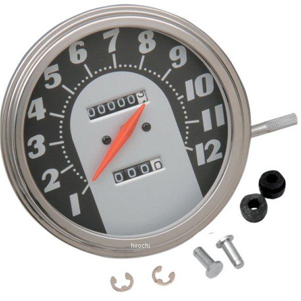 【USA在庫あり】 DRAG 2240:60 スピードメーター(120MPH) 62年-67年 フェイス 12mm DS-243884 JP