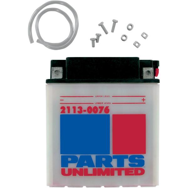 【USA在庫あり】 パーツアンリミテッド Parts Unlimited 液別 耐久バッテリー 開放型 12V YB30CL-B 2113-0076 JP店