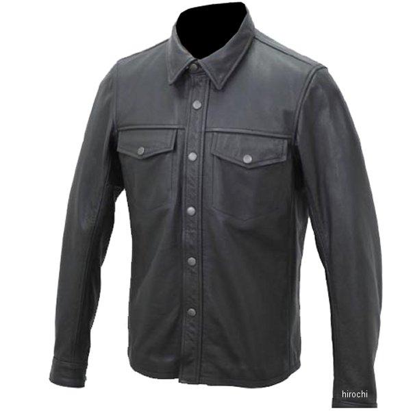 1162 カドヤ KADOYA レザーシャツ 黒 Sサイズ 1162-0/BKS JP店