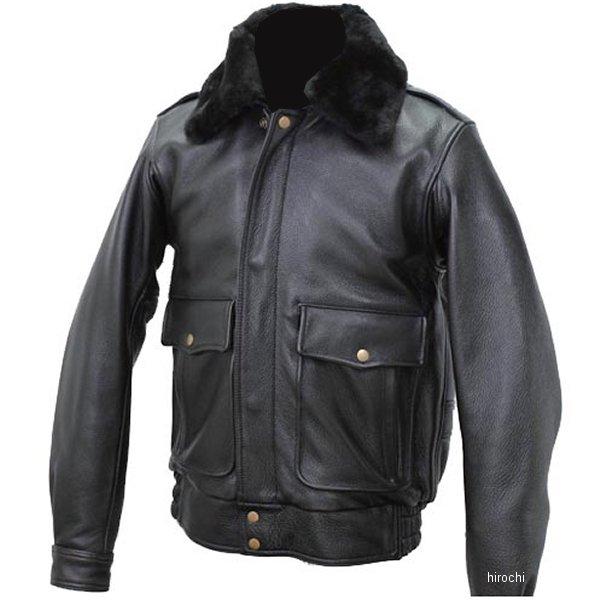1163 カドヤ KADOYA レザージャケット BBJ-2 黒 Lサイズ 1163-0/BKL JP店