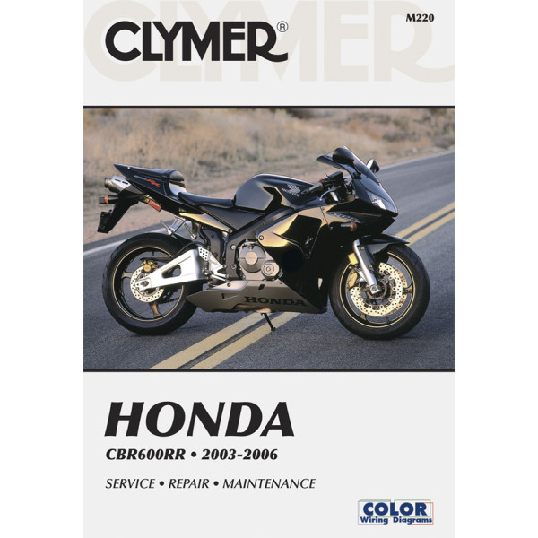 Parts Accessories Haynes Service Repair Manual Honda Cbr600rr 2003