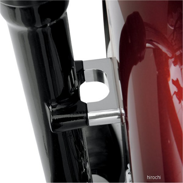【USA在庫あり】 クロックワークス Klock Werks フェンダー取付金具 21インチ FX ナロークローム 1410-0045 JP