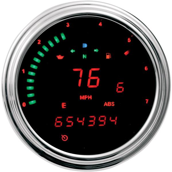 【USA在庫あり】 ダコタデジタル Dakota Digital マルチメーター(km/h、MPH) 04年-10年 DIRECT ECM 赤LED 211049 JP