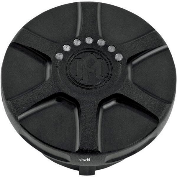 【USA在庫あり】 パフォーマンスマシン LEDフュエルゲージ付きガスキャップ アレイ 黒つや消し PM3522 JP