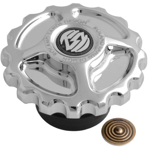 【USA在庫あり】 ローランドサンズデザイン RSD ガスキャップ ドライブギア クローム RD3473 JP