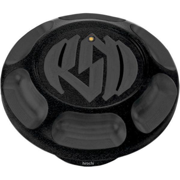 【USA在庫あり】 ローランドサンズデザイン RSD LEDフュエルゲージ付きガスキャップ ビンテージ 黒つや消し RD3513 JP