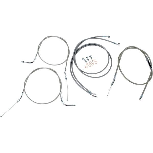 バロン BARON ケーブルライン セット 12インチ(305mm) 04年-07年 ロードスター XV1700 ステンレス 0650-1001 JP店