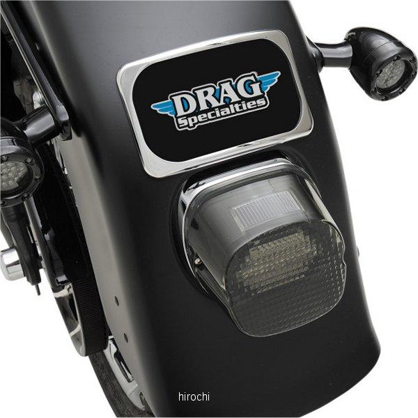 【USA在庫あり】 DRAG USAライセンスプレート 3ボルト ラディウス 小 クローム 7807-0114 JP