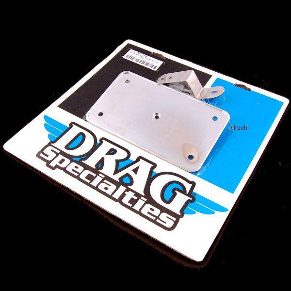 【USA在庫あり】 DRAG USAライセンスプレート 97年-06年 FLSTS クローム アルミ DS-720134 JP