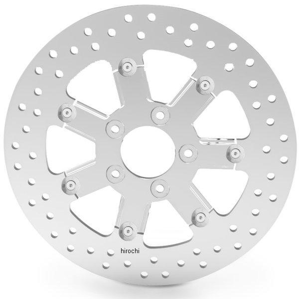 アレンネス Arlen Ness ブレーキ ディスクローター フロント ベベル 11.8インチ 08年以降 ツーリング クローム 02-748 JP店