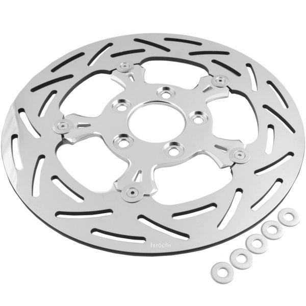 アレンネス Arlen Ness ブレーキ ディスクローター G3 11.5インチ XL、ソフテイル等 クローム 02-751 JP店