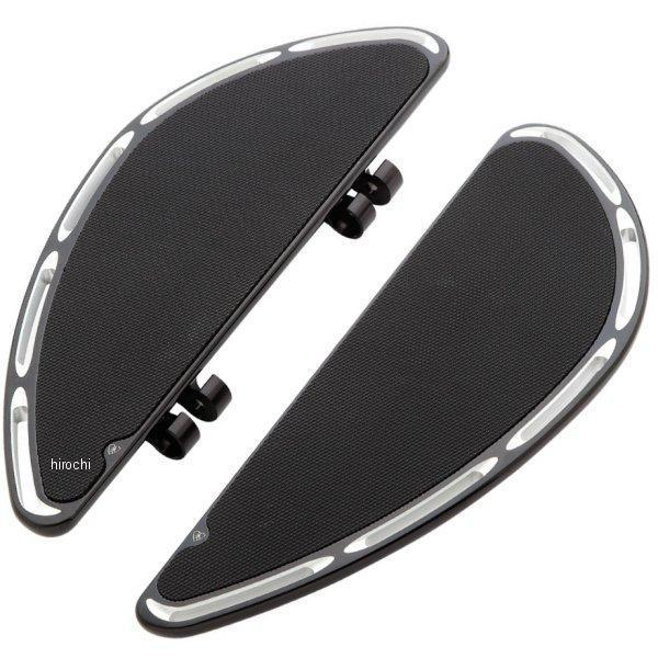 1621-0488 アレンネス Arlen Ness ディープカット フュージョン ライダー フットボード 黒 15-401 JP店