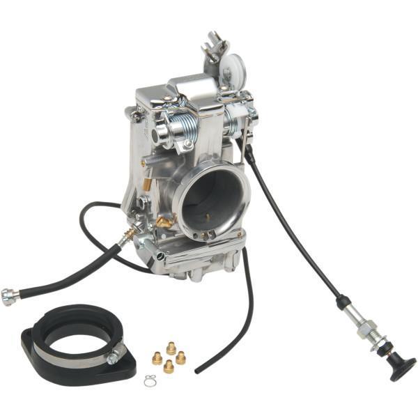 【USA在庫あり】 ミクニ レーシング キャブレター スムースボア 48mm ポリッシュ仕上げ 48-2P JP店