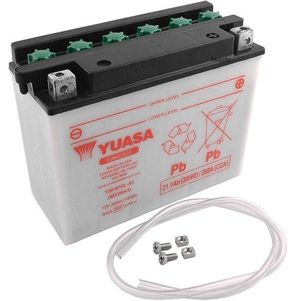 【USA在庫あり】 ユアサ YUASA バッテリー 開放型 Y50-N18L-A3 JP店