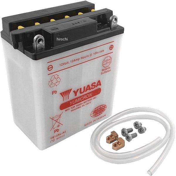 【USA在庫あり】 ユアサ YUASA バッテリー 開放型 YB12AL-A2 JP店