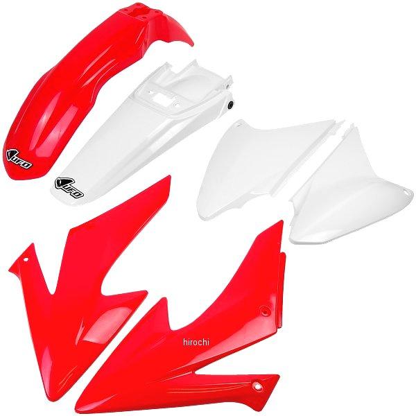 【USA在庫あり】 ユーフォープラスト UFO PLAST 外装キット 03年-12年 CRF230F、CRF150F 赤/白 1403-0821 JP店