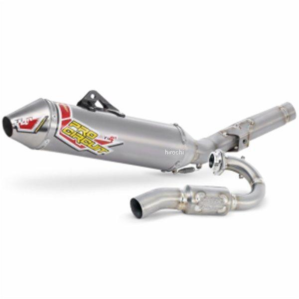 【USA在庫あり】 プロサーキット Pro Circuit フルエキゾースト TI-4R 10年-11年 KTM350SX-F(EU仕様)チタン 1820-1244 JP