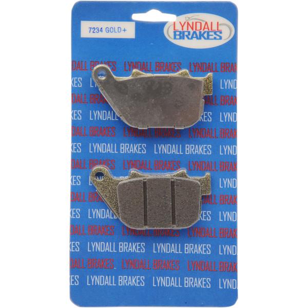【USA在庫あり】 リンダル Lyndall Racing Brakes ブレーキパッド リア 04年-13年 XL 42836-04 セミメタル 1720-0060 JP