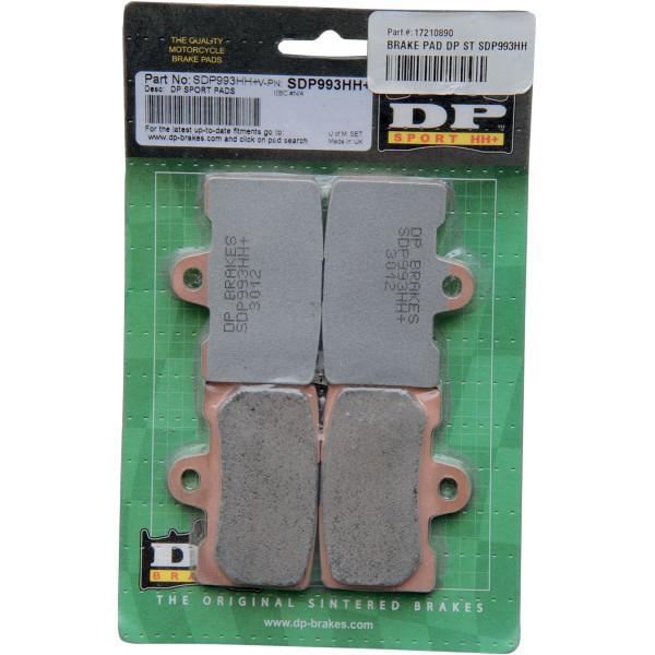 【USA在庫あり】 DPブレーキ DP Brakes ブレーキパッド フロント 08年-09年-1125R シンタード最強 1721-0890 JP