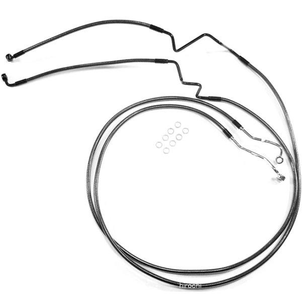 【USA在庫あり】 マグナム MAGNUM フロント ブレーキライン ロワー FLH(デュアルディスク) 黒 1741-4063 JP