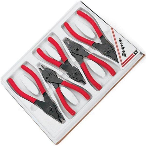 スナップオン Snap-on リテーニングリング 固定チップ/コンバーチブル、鍛造プライアー 5本 セット SRPC105 JP店