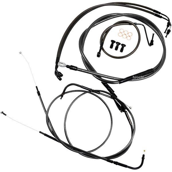 【USA在庫あり】 LAチョッパーズ LA Choppers ケーブルキット 黒/黒 08年-13年 ツーリング ABS付き 純正ハンドル用 0610-1577 JP