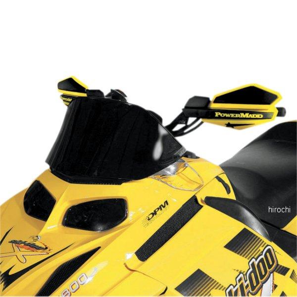 【USA在庫あり】 パワーマッド PowerMadd ウインドシールド コブラ 9.5インチ(241mm) Ski-Doo 黒 10302011 JP店