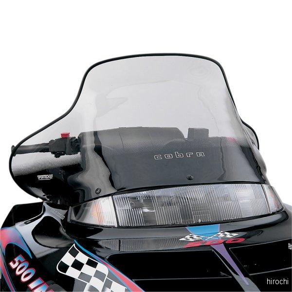 【USA在庫あり】 パワーマッド PowerMadd ウインドシールド コブラ 15.5インチ(394mm) ポラリス Tint色 CE-BK JP店